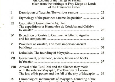 Book-Things-Yucatan-English-index