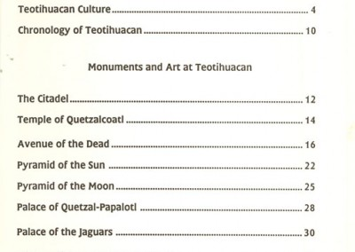 Guide-Teotihucan-English-Index
